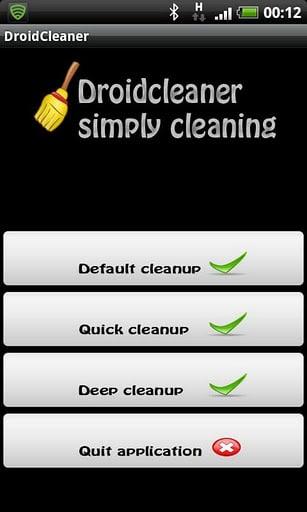 aplicacion droid cleaner