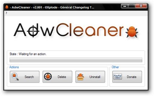adware y AdwCleaner