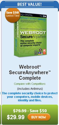 webroot rebaja