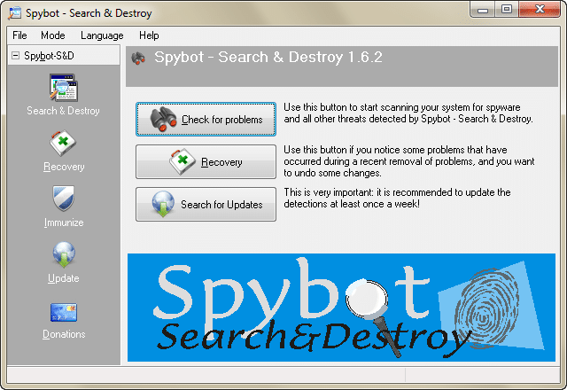 Spybot-Search-Destroy