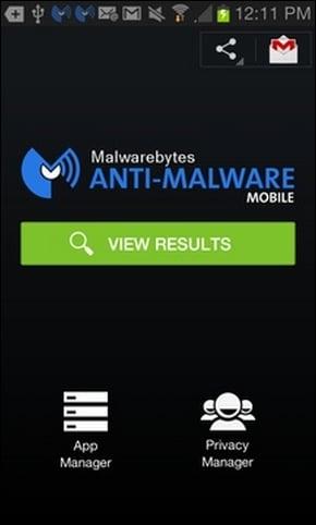 antivirus Malwarebytes Anti- Malware