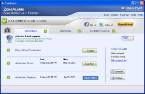 Zone Alarm Antivirus Free