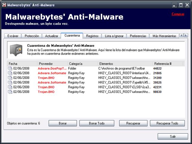 Malwarebytes Anti -Malware