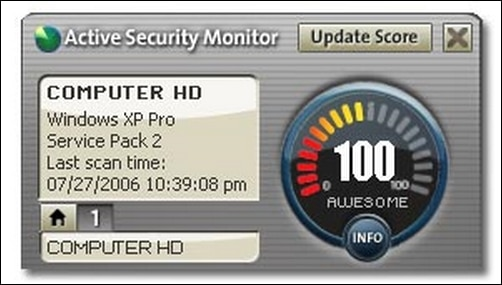 AOL Security Monitor
