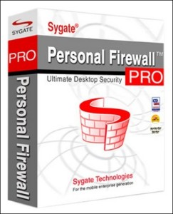 Sygate Personal Firewall Pro - presentacion